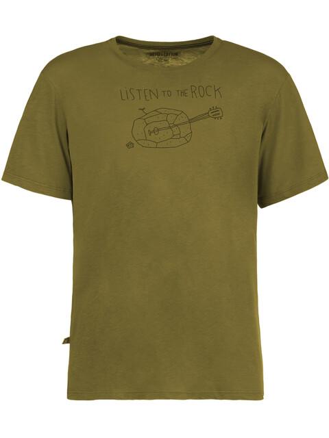 E9 Guitar T-Shirt Men Pistachio